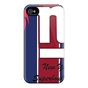 DustinFrench Iphone 4/4s Great Cell-phone Hard Covers Support Personal Customs Realistic New York Giants Skin [lHD9785lpZi]