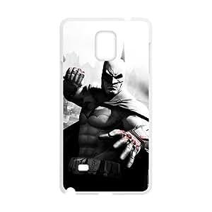 Batman Arkham City Samsung Galaxy Note 4 Cell Phone Case White 53Go-381723