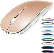 Mouse Bluetooth para MacBook Pro/MacBook Air/Laptop/iMac/iPad, mouse sem fio para MacBook Pro MacBook Air/iMac