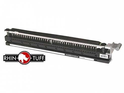 Rhin-O-Tuff Die for models HD7700 and HD7700H 6mm Coil (Round holes) 14-inch by Rhin-O-Tuff