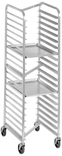 Channel Manufacturing 402AN 15 Pan Front Load Aluminum Nesting Bun / Sheet Pan Rack - Assembled