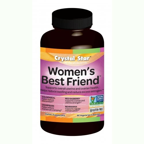 Crystal Star Women's Best Friend - 90 vcaps