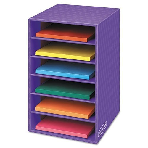 Bankers Box Classroom 6 Shelf Organizer 18''H x 12''W x 13 1/4''D (3381201) (Pack of 2)