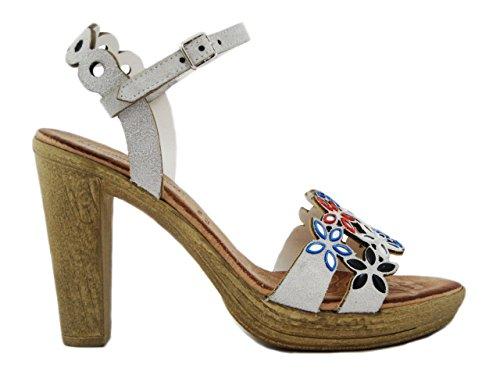 OSVALDO PERICOLI - Sandalias de vestir para mujer amarillo Size: 37 3qXrDo