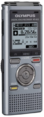 Olympus WS-822 GMT Voice Recorders with 4 GB Built-in-Memory by Olympus (Image #2)