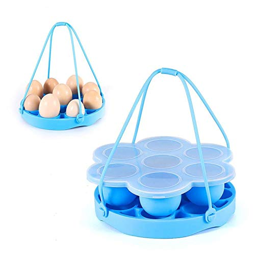 Majinz Store Egg Bite Mold Egg Cooker Tools Egg Steamer Rack Silicone Steamer Insulation Pad with Egg Bite Mold Kitchen Cooker Accessories