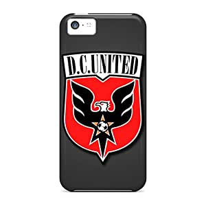 Premium [AZR9627pixP]dc United Cases For Iphone 5c- Eco-friendly Packaging