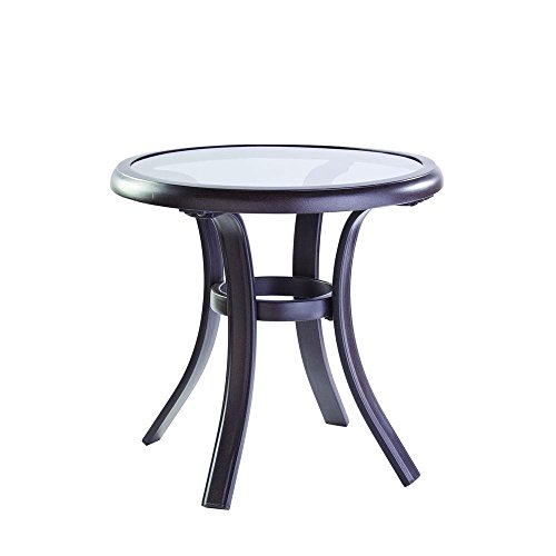 Hampton Bay Statesville Patio Side Table ()