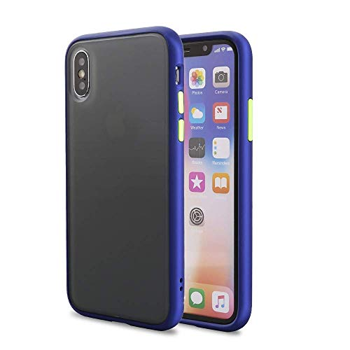 A rtistque Back Cover for Apple iphone X  TPU|Blue