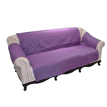 eDealMax mejorada antideslizante sofá cubierta Reversible Muebles Protector Con las características de la Correa elástica y