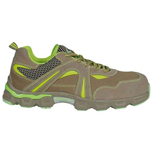 Cofra JE005-000.W42 Paintball Beige S1 P SRC Chaussures de sécurité Taille 42 Kaki