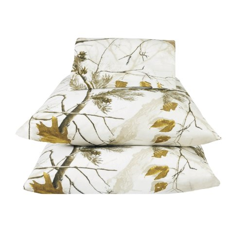 Realtree AP Snow Sheet Set, Queen