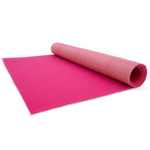 Pink Carpet - Wedding Runner - Ceremony Aisle - VIP Carpet - Event Rug - Pink Colour - 1m x 1m Primaflor - Ideen in Textil