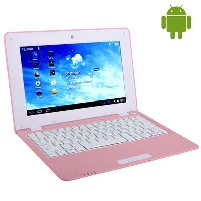 Wewoo Ordenador portátil Android 4.0 10 Pulgadas 512 MB + 4 GB Procesador: Via WM8880 Dual Core 1,5 GHz Rosa: Amazon.es: Electrónica