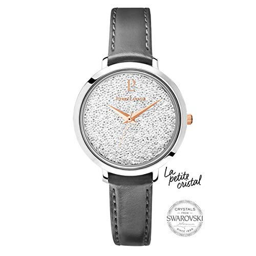 Pierre Lannier Swarovski Crystal Grey Ladies Watch