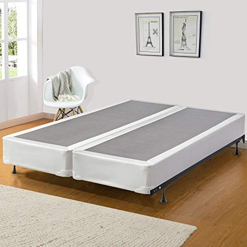 Greaton Fully Assemled for for Mattress 8-Inch Split Box Spring, King, King ()