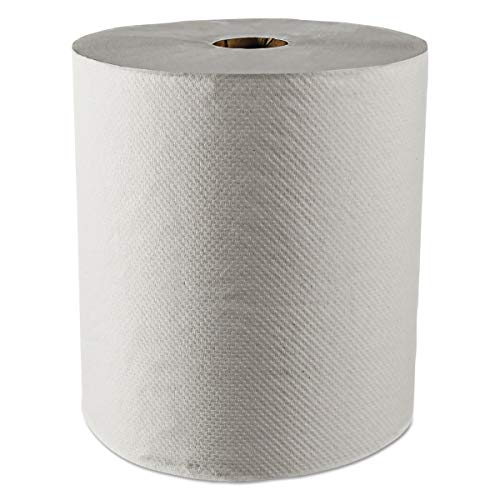 Scott 01052 Hard Roll Towels, 100% Recycled, 1.5'' Core, White, 8'' x 800ft (Case of 12 Rolls) by Scott (Image #7)