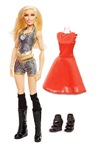 WWE Girls Superstar Charlotte Flair Figure ()