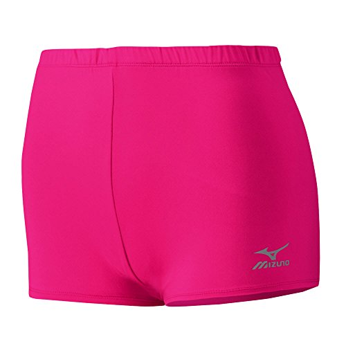 Mizuno Core Low Rider Shorts, Shocking Pink, - Shorts Womens Lowrider