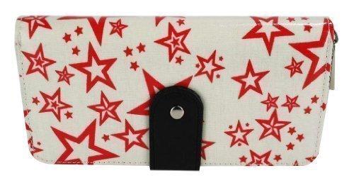 TrendStar - Cartera de mano para mujer Beige - Beige Star Fashion Purse