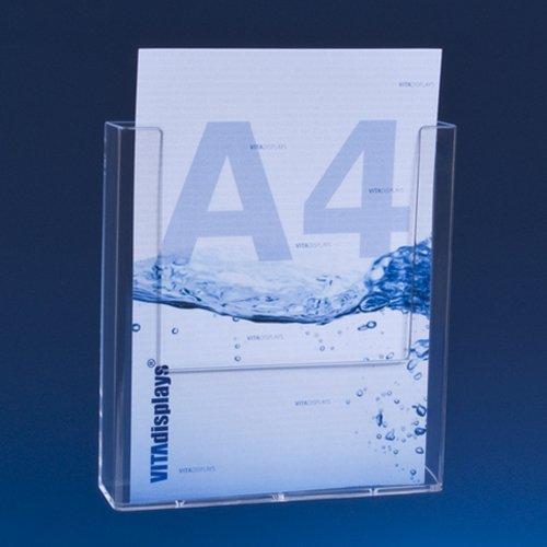TAYMAR® Prospekthalter, DIN A4, Transparent (W230)