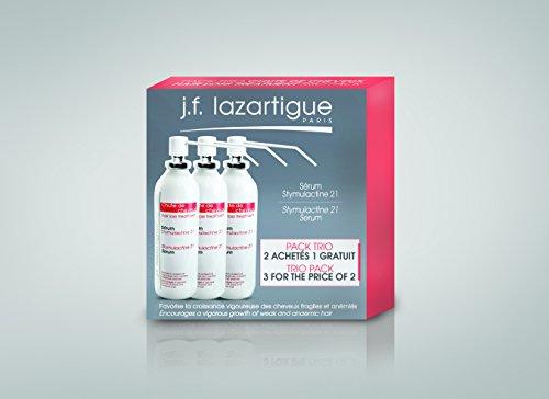J.F. Lazartigue Stymulactine 21 Spray Serum Hair regrowth Trio Pack by J.F. Lazartigue