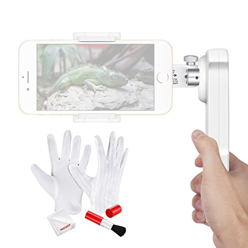 Neewer 2-Axis Handheld Smartphone Gimbal Stabilizer and Cleaning Kit for iPhone 7 Plus 7 6s 6s Plus Samsung S5 S6 Edge Plus YotaPhone Huawei and Other Cellphones within 5.5 inches (NW-2AG200)