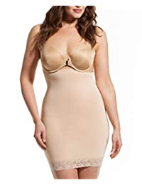 Women's Plus Size Shapewear Slip Strapless Shapewear High Waist Tummy Control Shaper Slip