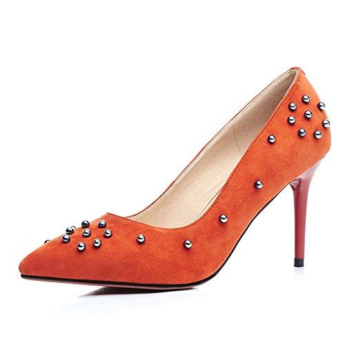 Nine SevenHeels - Sandalias con cuña mujer naranja