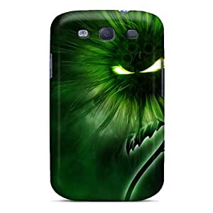 Ideal Bling Cases Case Cover For Galaxy S3(green), Protective Stylish Case