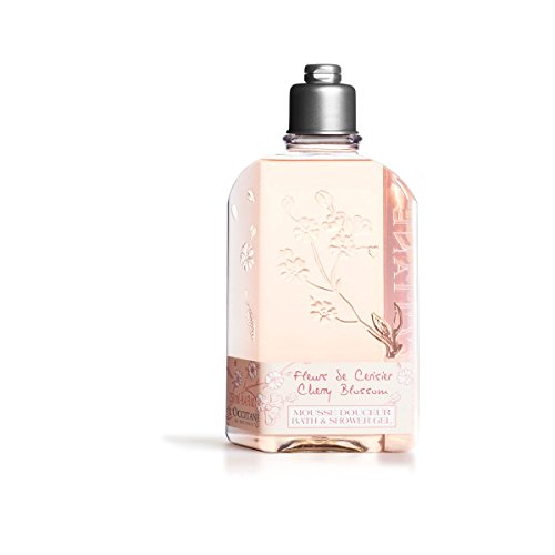 L'Occitane Delicate Cherry Blossom Bath & Shower Gel, 8.4 fl. (Delicate Bath Gel)