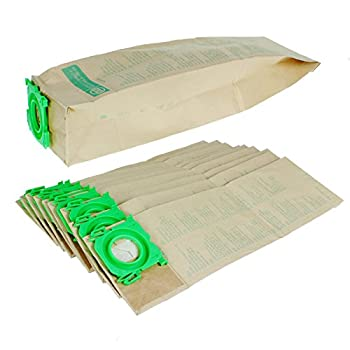 Sebo Genuine 3 Layer Paper Dust Bags for Sebo Bagged Vacuum Cleaners - 5093 (Pack of 10)