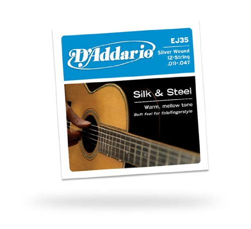 D'Addario Silk & Steel 12-String Folk EJ35 011