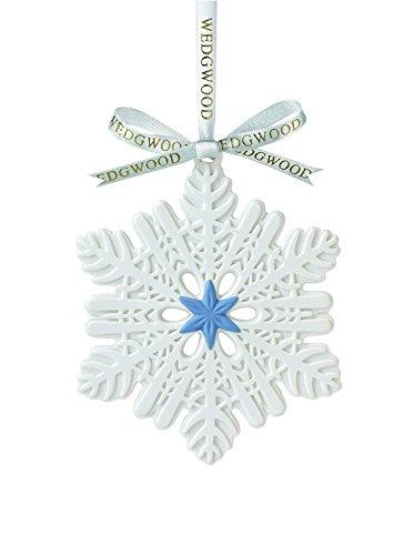 Wedgwood Snowflake Figural Ornament