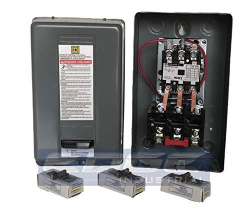 - SQUARE D MAGNETIC MOTOR STARTER CONTROL FOR 15HP, 460V,3P 3-PHASE, 8911DPSG33V06