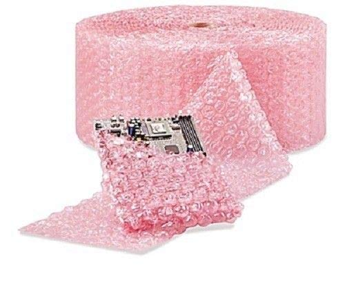 Shipping Supplies & Packaging Materials 1/2'' Large Bubble Cushioning Wrap Anti-Static Roll Padding 250' x 12'' Wide 250FT Packaging and Packing Supplies Accessories