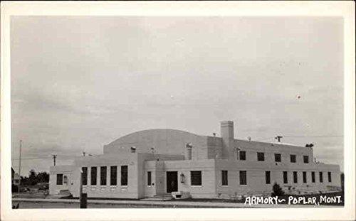 Amazon com: Armory Poplar, Montana Original Vintage Postcard
