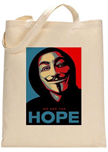Anonymous Custom Made Tote Bag