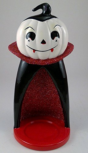 Bath & Body Works Ceramic Vampire Mini Candle Luminary Holder ()