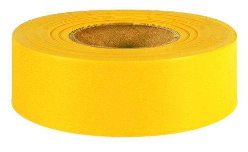 Yellow Flagging Tape - IPG 6885 Flagging Ribbon, Yellow Glow, 1.18