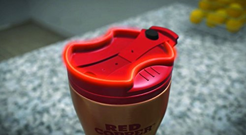 Red Copper Ceramic Lined Travel Mug by BulbHead - 16oz - BPA Free - Double Insulated Wall - Leak Resistant with Ceramic Lining by Red Copper (Image #3)