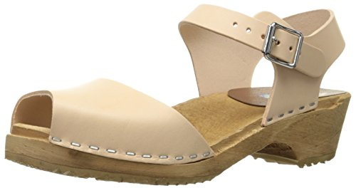 MIA Women's Anja Mule, Natural, 8 M US