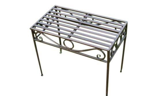 Table d\'appoint ou support de plante métallique style Versailles ...