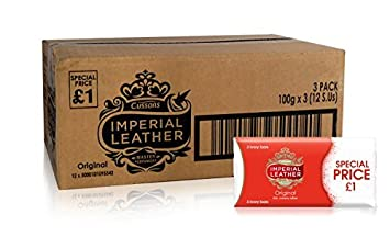 100g Imperial Leather Original Ivory Bar pack Of 6