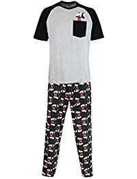 Disney Mickey Mouse Mens Mickey Mouse Pajamas