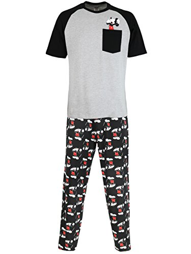Disney Mickey Mouse Mens' Mickey Mouse Pajamas -