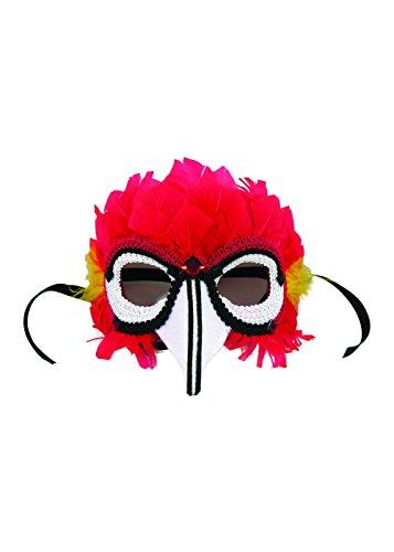 Forum Novelties 79163 Parrot Women Mask, Standard -