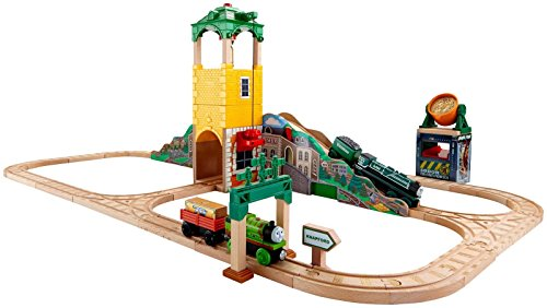 Fisher Price Thomas & Friends Wooden Railway Sam and the Great Bell Set Toy by Fisher-Price