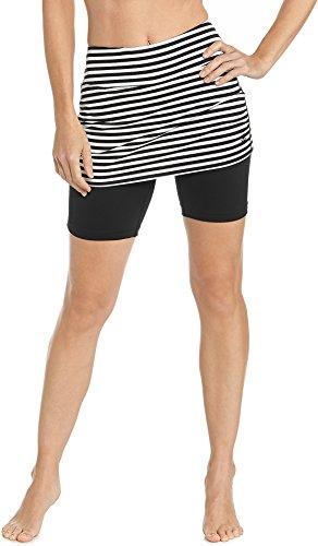 Coolibar Womens Skirted Swim Shorts product image