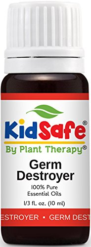 Plant Therapy KidSafe Germ Destroyer Synergy Essential Oil 10 mL (1/3 oz) 100% Pure, Undiluted, Therapeutic Grade